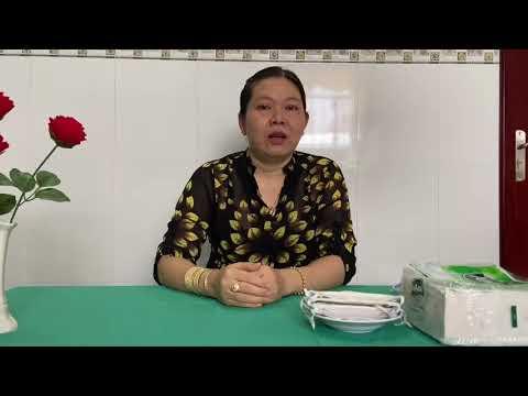 Hướng dẫn trẻ cách làm khẩu trang bằng giấy (cô Hồng Thư_Trường MN Anh Đào)