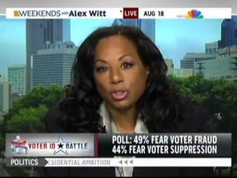 Leila McDowell on MSNBC: Voter ID Laws and Disenfranchisement