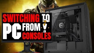 Switching To PC Gaming From Console | My Experience