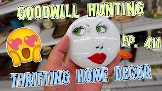 THRIFTING HOME DECOR | GOODWILL HUNTING EP. 411
