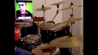 ANTONELLO VENDITTI -QUI'- ( VALLE GIULIA ) - drum cover