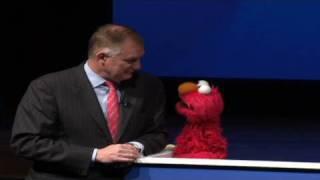 Elmo and friends visit the Pentagon