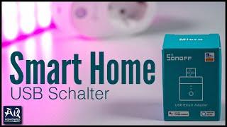 Smart Home Zeitschaltuhr für USB-Geräte mit WLAN | AquaOwner