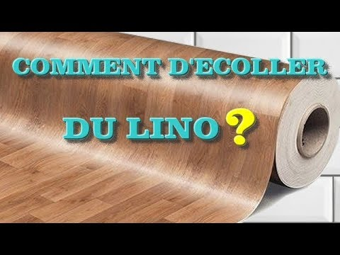 COMMENT D'ECOLLER DU LINO