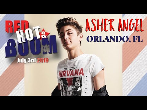 Asher Angel - Red Hot & Boom, Orlando Florida - July 3, 2019