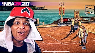 NBA 2K20 DEVS FINALLY ADDED NEW PARKS TO THE GAME.... ON THE MOBILE VERSION