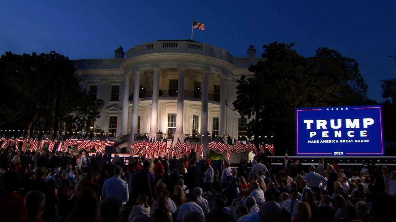 maxresdefault - Trump, on huge White House stage, decrying Biden, radicals