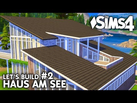 Dachbalkon & Grundriss   Die Sims 4 Haus am See bauen   Let's Build #2 (deutsch)