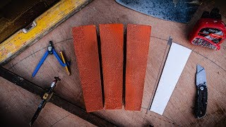 BRICKLAYING - How to cut VOUSSOIRS