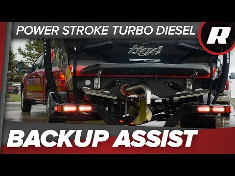 Ford's Trailer Backup Assist makes reversing a breeze