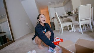 VLOG // a very late birthday surprise, lol