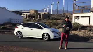 Essai de la Nouvelle Nissan Leaf 2018
