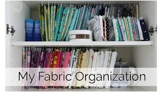 How To Organize Your Fabric