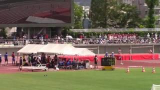 2016 岡山インターハイ陸上 女子200m予選3