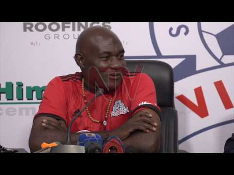 Vipers appoint interim coach Fred Kajoba