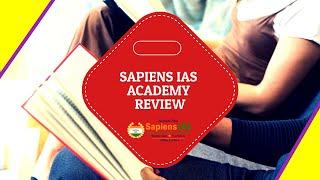 Sapiens IAS Academy Review