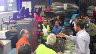 Egans - Office Furniture Auction Melbourne - Resale is the best form of recycle