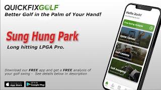 Sung Park Golf Swing Analysis
