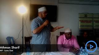 Lamu leaders air their views to members of the Building Bridges