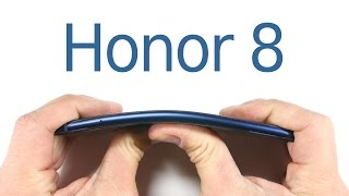Honor 8 Durability Test - Scratch test - BEND test