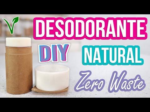 DESODORANTE NATURAL - DIY - CERO BASURA - ZERO WASTE - VEGANO - Mixi