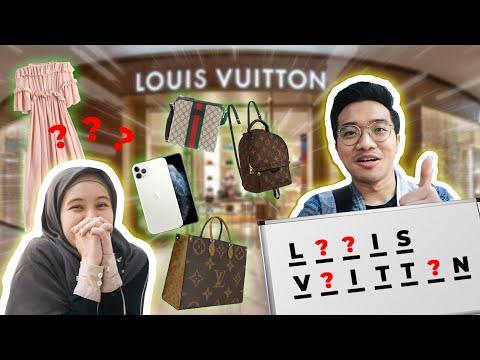 Beliin SEMUA yg Meira TEBAK Namanya! Gucci LV ?! Part 2