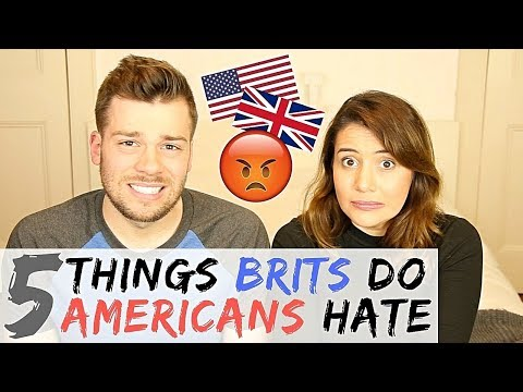 🇬🇧5 THINGS BRITS DO THAT DRIVE AMERICANS CRAZY!  🇺🇸