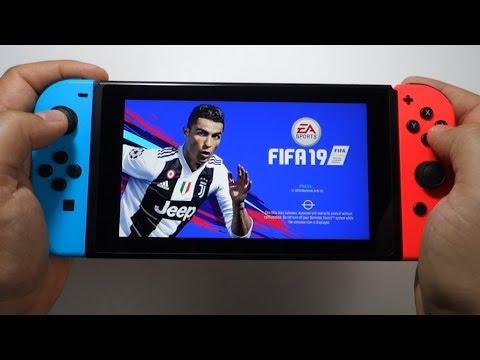 FIFA 19 Nintendo Switch gameplay