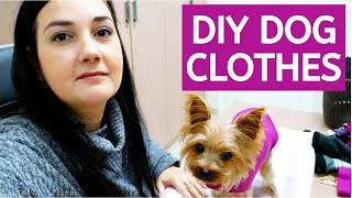 Easy DIY Dog Clothes - Super Simple And Fast Sewing Project