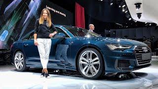 AUDI A6 2018 ТОП!!! BMW и Mercedes СТОИТ БОЯТЬСЯ? А также AUDI A7, AUDI E-tron!