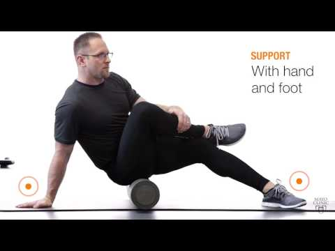 Using Foam Rollers For Sciatica Exercises to Strengthen Muscles