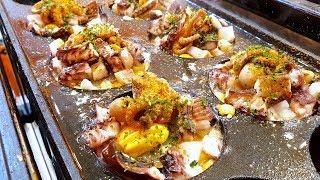 Amazing King Takokayki, Giant Takoyaki, たこ焼き, octopus bread, Korean street food
