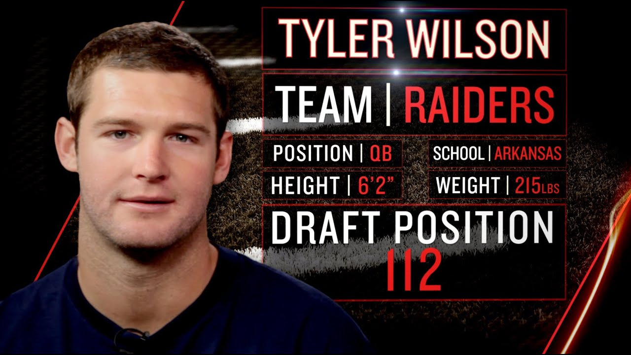 Raiders Rookie Tyler Wilson on Oakland's Wild Fans, Adjusting to NFL (2013 NFLPA Rookie Premiere) thumbnail