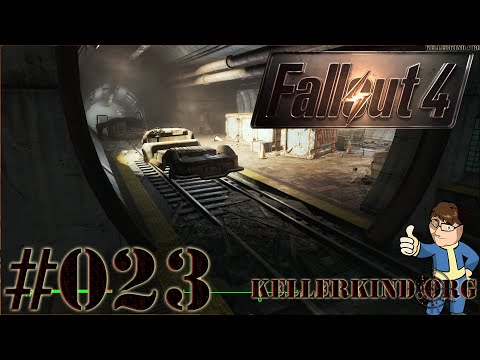 Fallout 4 [HD|60FPS] #023 - Park Street Station ★ Let's Play Fallout 4