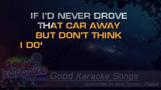 Don't Think I Don't Think About It -  DArius Rucker (Lyrics Karaoke) [ goodkaraokesongs.com ]