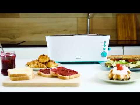Tostadora Toast & Taste Cecotec 2 L