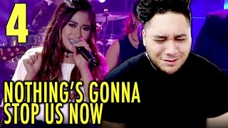 Morissette Amon - Nothing's Going To Stop Us Now (Starship Cover) | MYX Live REACTION!!!