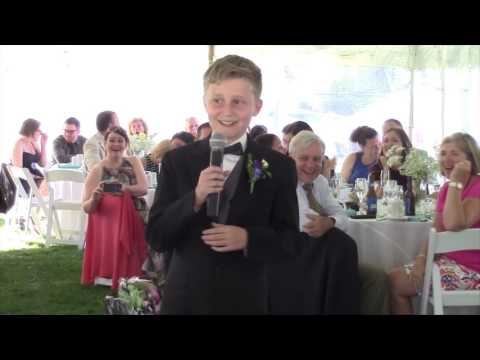 11 year old nephew's best man speech