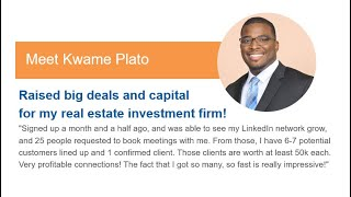 Kwame Plato | Done For You Leads | Closes 1st Lucrative Deal in Weeks