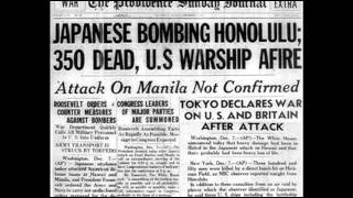 World War II - Attack on Pearl Harbor