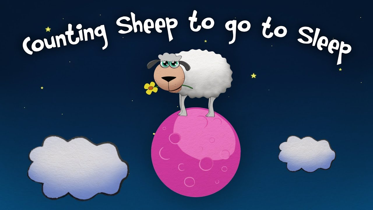 The Best Counting Sheep To Go To Sleep - 1 Hour - Mini Monsters Music