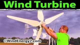 WindEnergy7: Home Wind Turbines