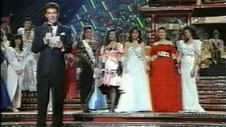 MISS UNIVERSE 1988 Crowning
