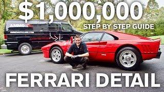 $1,000,000 Ferrari Paint Restoration and Car Detail