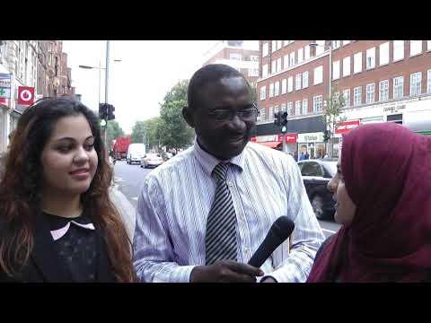 Muslim girls, Jesus appears, Kensington London, Andy Lumeh Evangelist