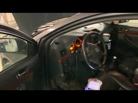 Фото к видео: Toyota Avensis 2.2d4d и 2.2dcat - почему дымит и дёргается и как решить проблемы
