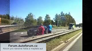 cyklozmrdi na dálnici + zrcátka k hovnu