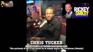 Chris Tucker talks about Michael Jackson on Rickey Smiley show sub ita