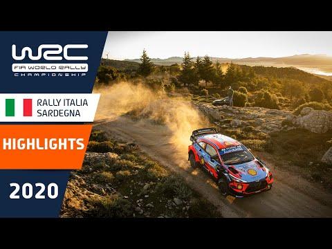 WRC ラリー・イタリア・サルディニア のラリーの様子を約4分にまとめたダイジェスト映像