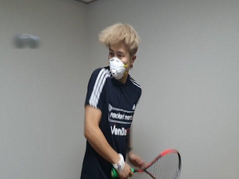 [영훈TV] 방구석 스쿼시 챌린지!! 대한민국 코로나19 극복에 모든 스쿼시인의 마음을 담아 기부합니다.